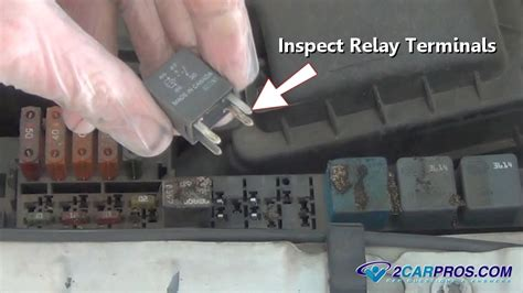 test  automotive relay