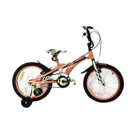 jual wim cycle aggressor bmx sepeda anak orange 16 inch harga kualitas terjamin