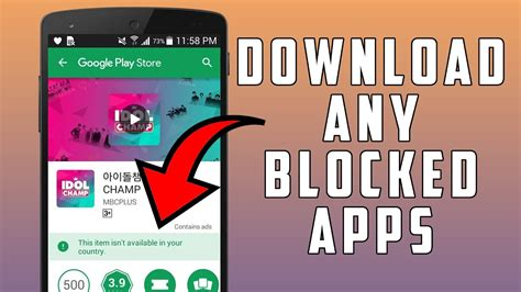 download youtube blocked country how to download blocked apps from google play store