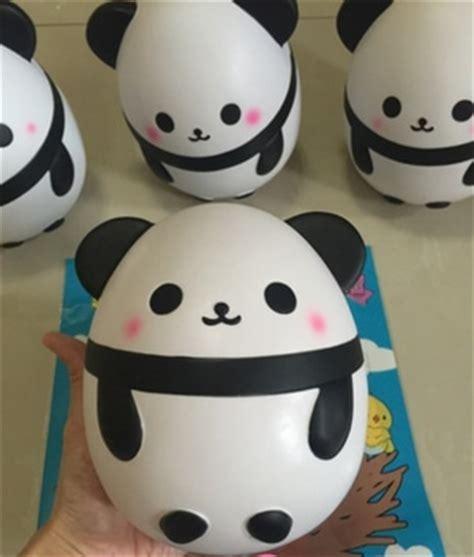 Panda Egg Squishy squishy panda egg jumbo panda egg and slime