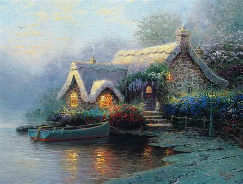 lochaven cottage  thomas kinkade company