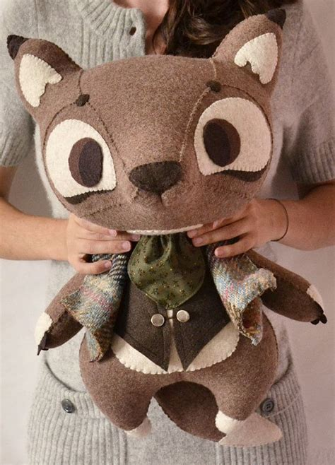 Handmade Stuffed Animal Sewing Patterns - 25 best ideas about felt stuffed animals on