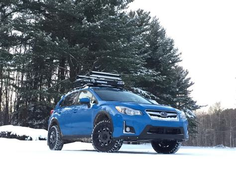 subaru crosstrek lifted blue 2016 crosstrek hyper blue jl lp aventure inc