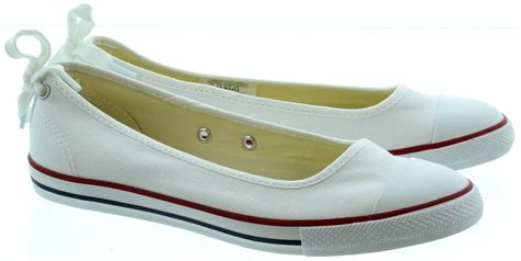 Harga Converse Flat Shoes converse ballerina the slim slip on storiestrending