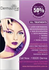 design a flyer for a beauty salon freelancer