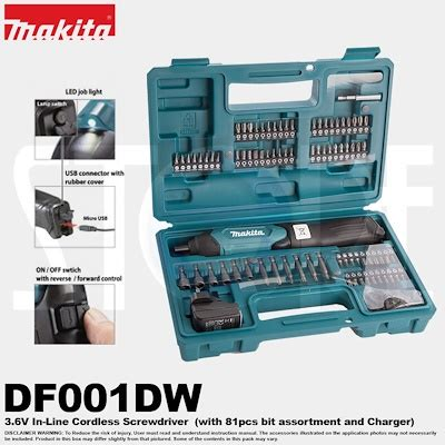 Hair Style Tools Bag Makita by Qoo10 Makita Df001dw 3 6v Cordless Driver Drill