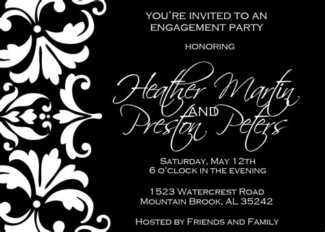 black and white party invitations theruntime com black and white party invitations theruntime com