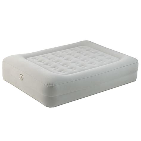 aerobed 86123 elevated raised air bed mattress built in pillow ebay