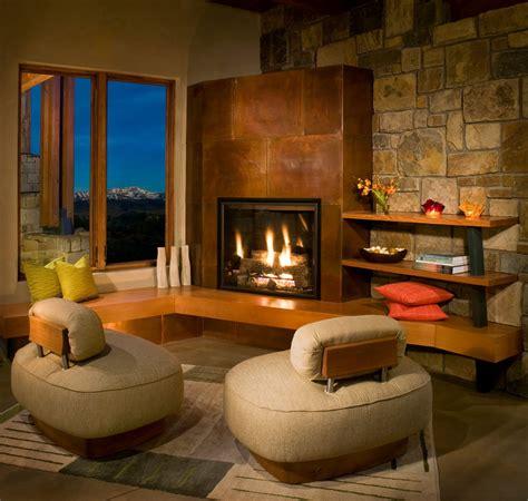 canapé style montagne salon sejour moderne chaleureux