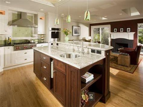 Small Kitchen Layout With Island Small Kitchen Island Designs Fortikur