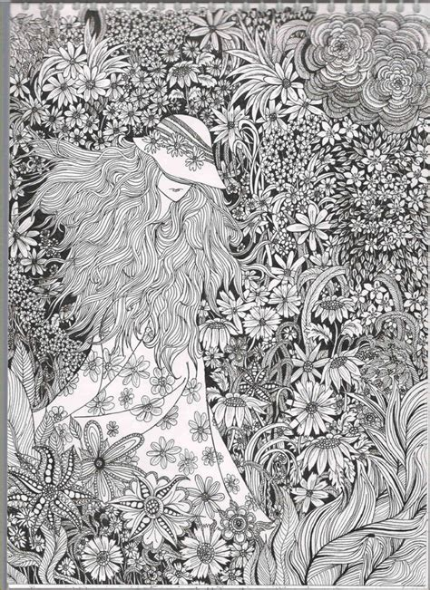 detailed garden coloring pages bestadultcoloringbooks i absolutely love this very