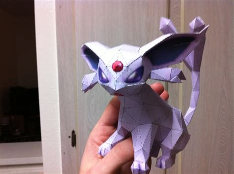 Espeon Papercraft - 1000 images about paper craft on disney