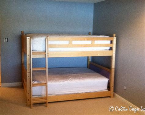 low ceiling bunk bed plans pdf woodworking