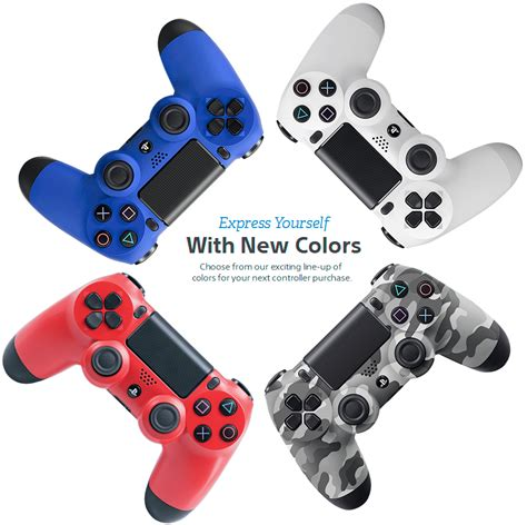 dualshock 4 colors dualshock 174 4 wireless controller new colors