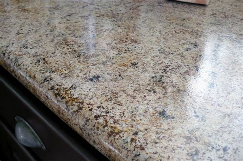 Imitation Granite Countertops Kitchen Pretty Lil Posies 250 Kitchen Makeover With 20 Granite