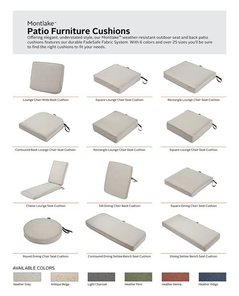 patio bench seat classic accessories montlake patio bench seat cushion slip cover heather grey