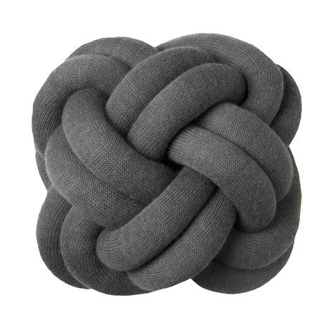 design house knot cushion design house stockholm grey knot cushion design house