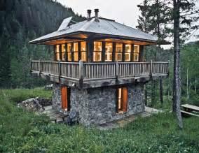 Tiny Two Story House High Range
