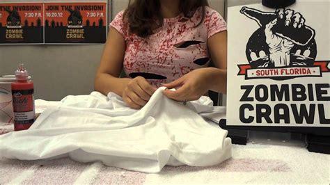zombie shirt costume youtube