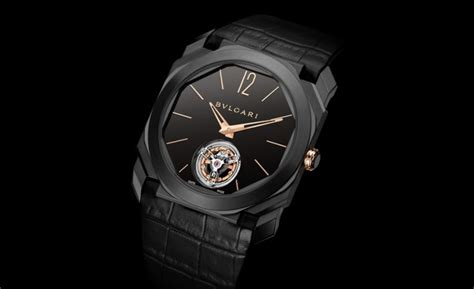 Bvlgari Flying Tourbillon Leather Black For the 10 finest all black watches on the market today