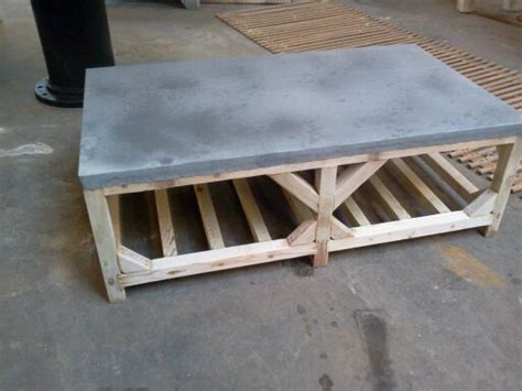adapted crate style coffee table zinc top davelennard
