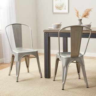 cheap black metal chairs metal dining room chairs overstock