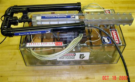 capacitor guns powerlabs rail gun