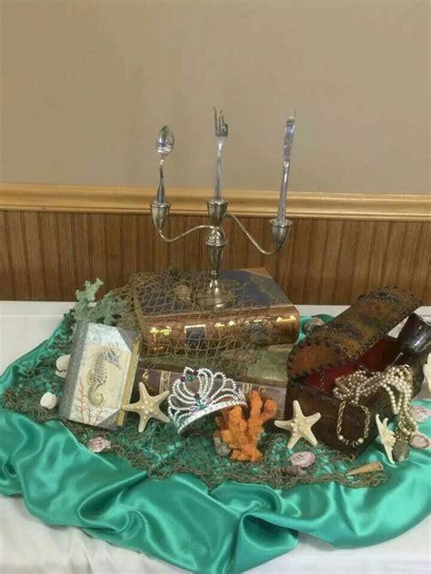 mermaid wedding centerpiece oosile