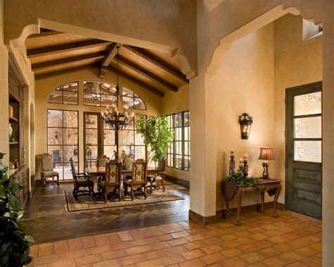 Interior Lighting Design For Homes by Italian Farmhouse Mediterranean Dining Room Phoenix