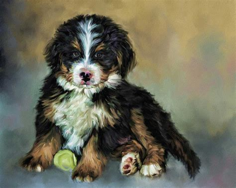 paintings of dogs portraits a painted pet custom pet paintings