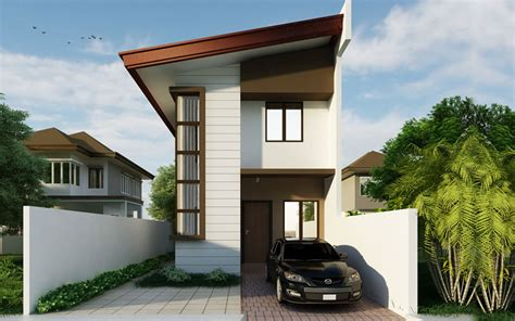 3 floor contemporary narrow home design a taste in heaven 2 story floor plans series phd 2015010