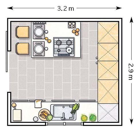 doce cocinas con barra y sus planos planos de cocinas - Cocinas Planos