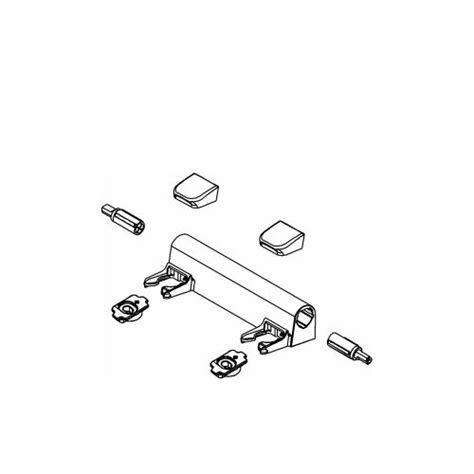 kohler 1150464 white eb hinge kit for elongated toilet