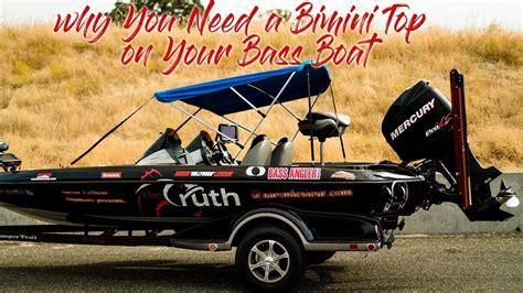 bass boat bimini why you need a bimini top on your bass boat youtube