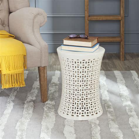 safavieh ceramic camilla garden stool acs4550 ebay