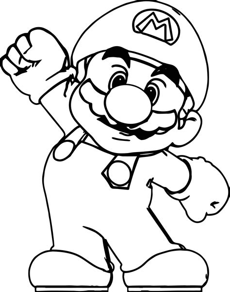 Big Coloring Pages by Big Mario Coloring Page Wecoloringpage