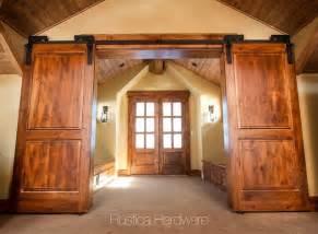 Unique Barn Doors Custom Barn Door Hardware Traditional Entry Salt Lake City By Rustica Hardware