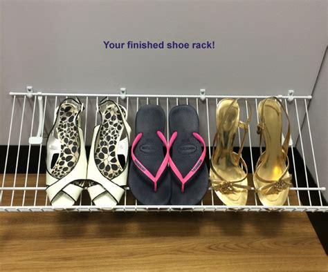 Closetmaid Wire Shoe Rack Closetmaid Design How To Guides
