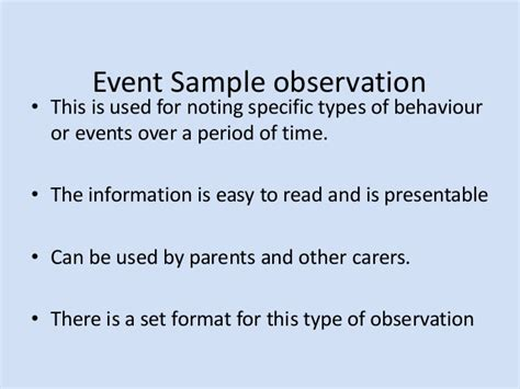 sle anecdotal report event sling observation template 28 images eyfs