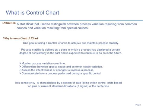statistical process control using control charts to monitor