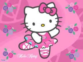kitty ballet achtergrond alleen voor meisjes