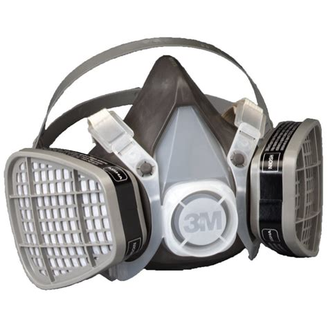 Masker Respirator 3m dust paint mask half respirator filter spray protect smoke gas large new ebay