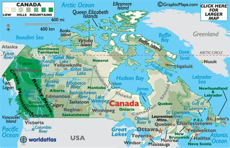canada map canada map map of canada maps and information about