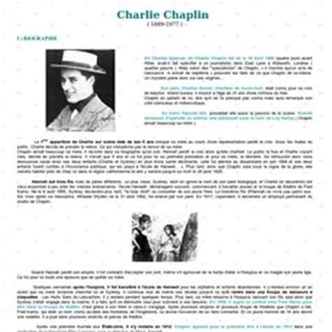 biography de charlie chaplin les temps modernes pearltrees