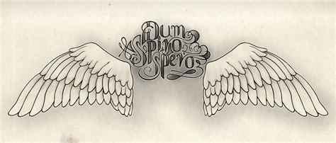 dum spiro spero tattoo designs hoseoppy design dum spiro spero