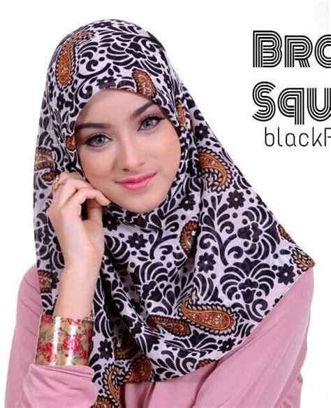 model jilbab modern segi empat modis terbaru