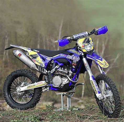 4t motocross gear sherco 300 4t designed by art factory photo fred david