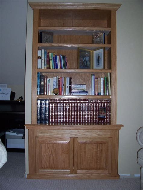 made built in bookcase by wood u create custommade