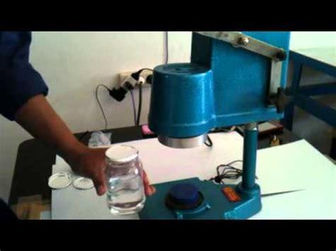 Mesin Seal Botol seal tutup botol segel botol dengan mesin heat sealer