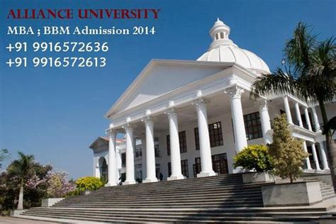 Alliance Bangalore Executive Mba Reviews by Alliance Bangalore Mba Admission 2014 Admission